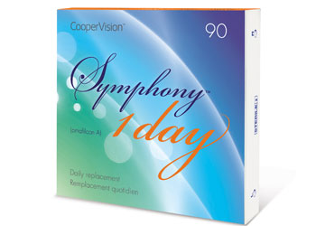 Symphony Contact Lenses From CooperVision